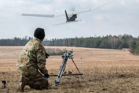Soldiers test new unmanned aerial tech with recon, chemical