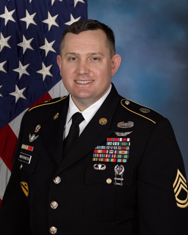 Sgt. 1st Class David M. Worthington