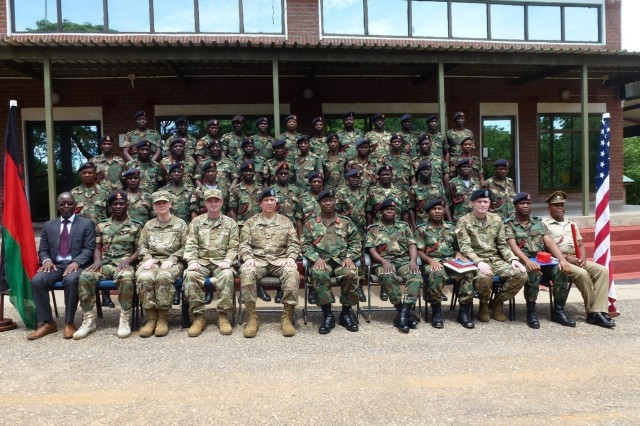 USARAF and MDF chaplains meet in Malawi
