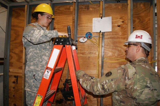 'Light me up:' Soldiers power through Interior Electrician training
