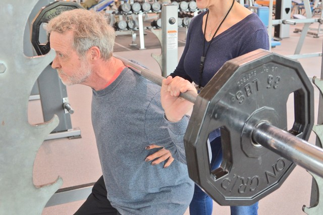 Carl Johnson, age 69, recently joined the elite 500-Pound Club at the Wiesbaden Sports, Fitness and Outdoor Recreation Center.