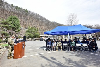 2ID/RUCD hosts first Arbor Day Ceremony at Camp Casey
