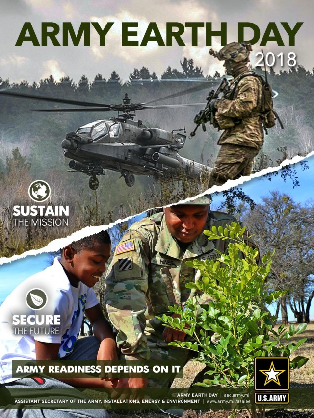 Army Earth Day 2018 Poster