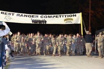 35th Best Ranger Competition makes running start from Camp Rogers