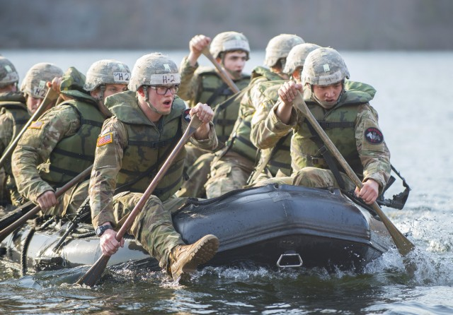 Cadets dig deep to finish grueling int'l Sandhurst competition