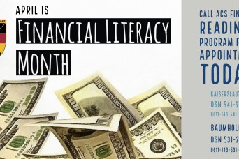 Learn fiscal responsibility during Financial Literacy Month