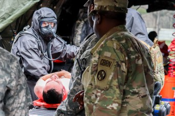 Practice makes perfect during nation-wide CBRN scenario for Maryland Unit