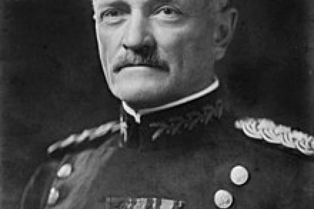 General John J. Pershing.  Source: U.S. Library of Congress.