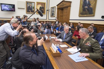 U.S. military must develop all-domain defenses, Mattis, Dunford say
