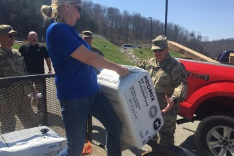 West Virginia Guard's Patriot Guardens program taking root