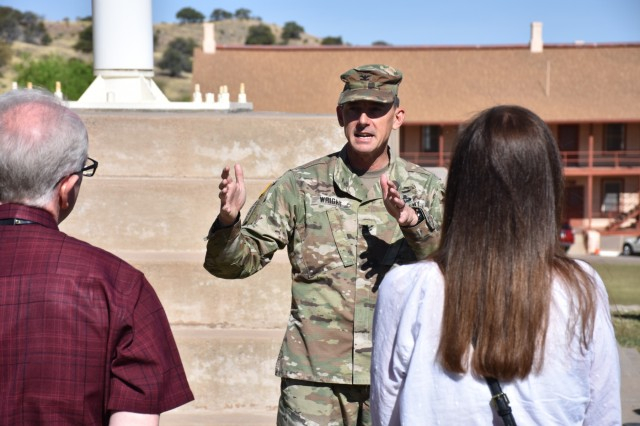 Educators Tour provides glimpse into Fort Huachuca operations