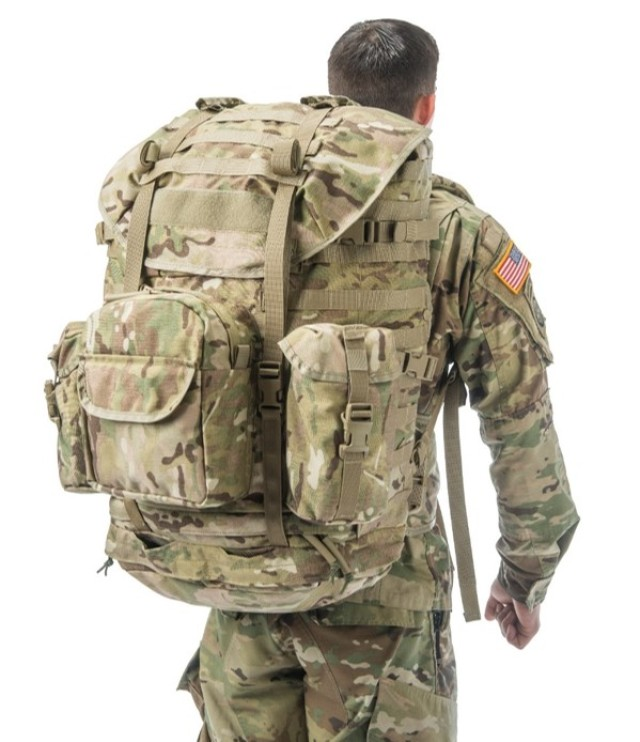 MOLLE 4000 (rear view)