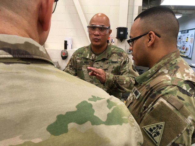94th Training Division Instructor Maintains Excellence at RTS-M Devens