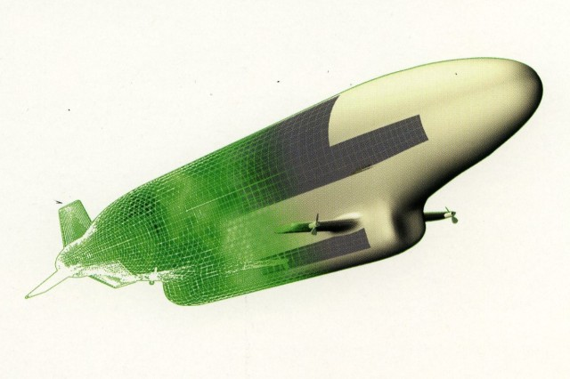 High Altitude Airship graphic