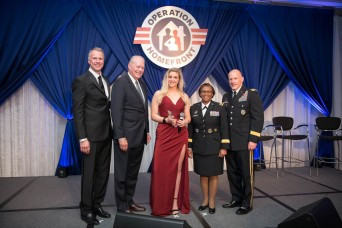 Rebekah Paxton recognized as Army's 'Military Child of the Year'