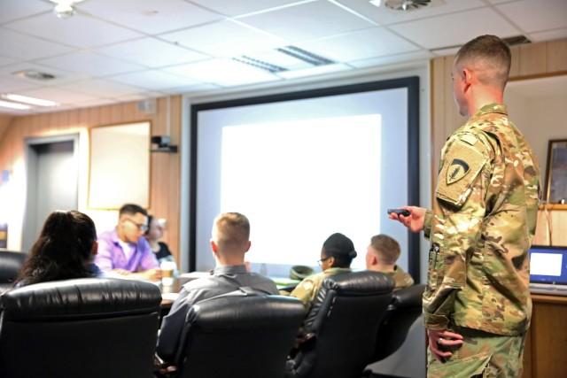 Soldier Development Program teaches skills for effective NCO evaluations