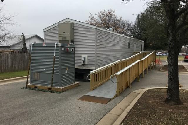 Typical FEMA Manufactured Housing Unit.