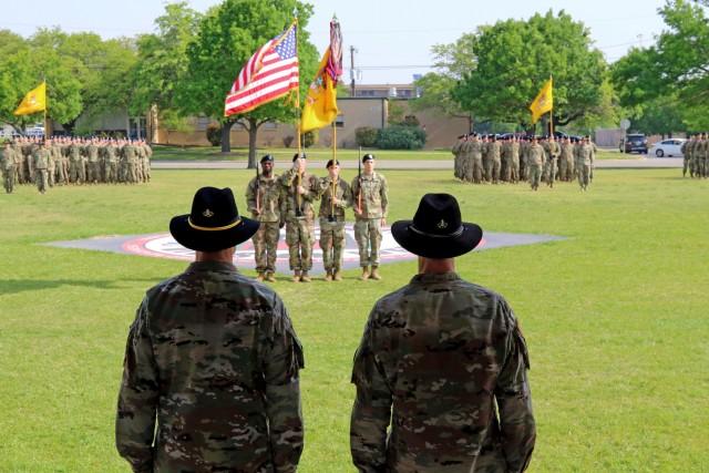 3rd Cavalry Regiment cases colors
