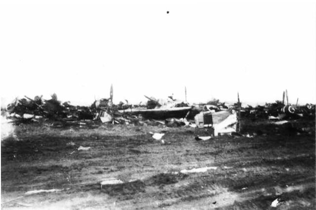 Katterbach Airfield after WW II