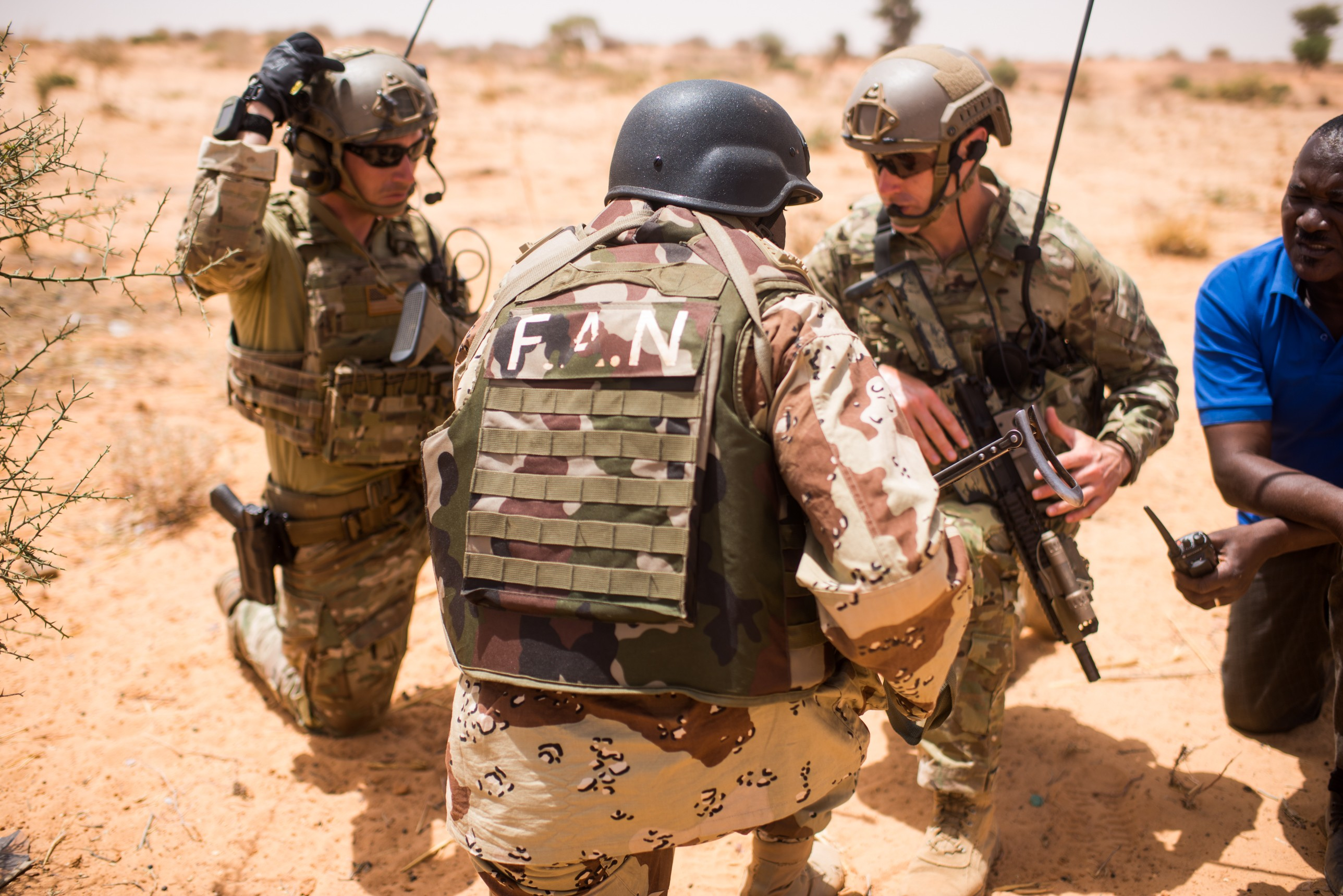 Indiana Guard strengthens state partnership with Niger | Article