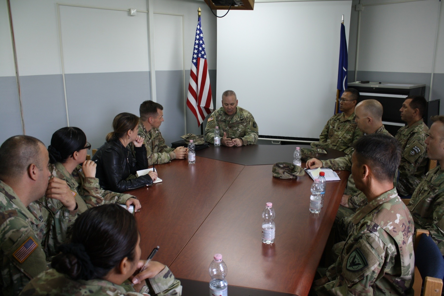 Cal Guard Soldiers get multinational experience at NATO Headquarters