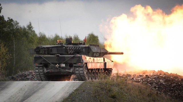 Eight nations to participate in 2018 Strong Europe Tank Challenge