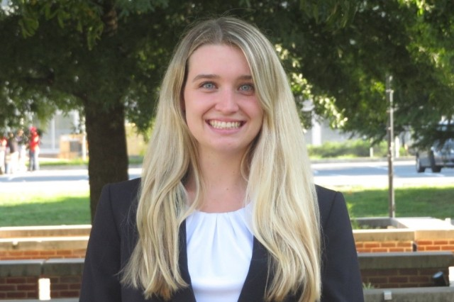 Sabrina Curtis, U.S. Army Research Laboratory student intern and University of Maryland materials science and engineering master's candidate, receives the National Science Foundation Graduate Research Fellowship Program to support her future educational plans.