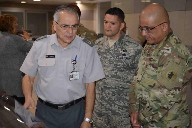 U.S. Service-members Tour Chilean Army Hospital