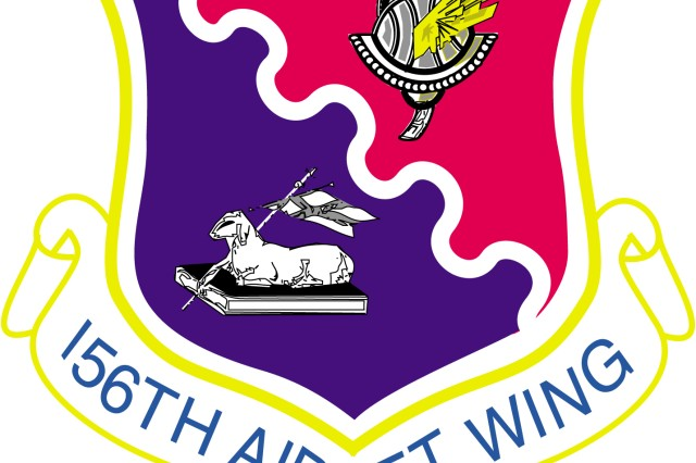 156th Airlift Wing logo