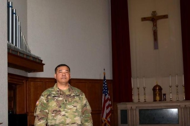 Sgt. Maj. El Sar, I Corps command chaplain sergeant major, is a Cambodian-born American who lived through atrocities as a child in his homeland and is now proud to call America home.
