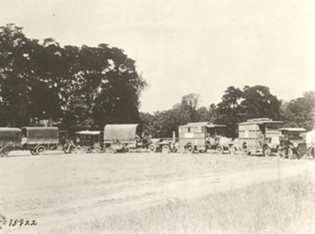 Mobile Hospital No. 2, World War I