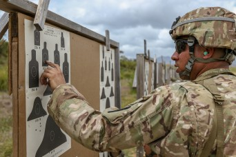 U.S. Army Reserve-Puerto Rico Soldiers test their Marksmanship Skills