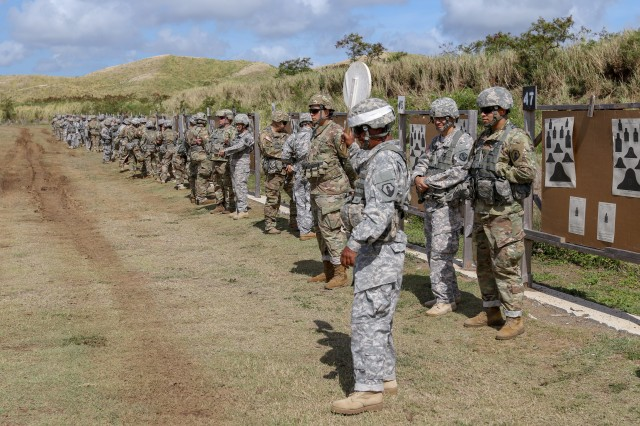Soldiers from the 393rd Combat Sustainment Support Battalion, U.S. Army Reserve-Puerto Rico, continued developing their readiness and lethality by conducting an M9 pistol and M16 rifle weapons qualification, at the Camp Santiago Joint Training Center, Salinas, Puerto Rico, May 5-6, 2018.