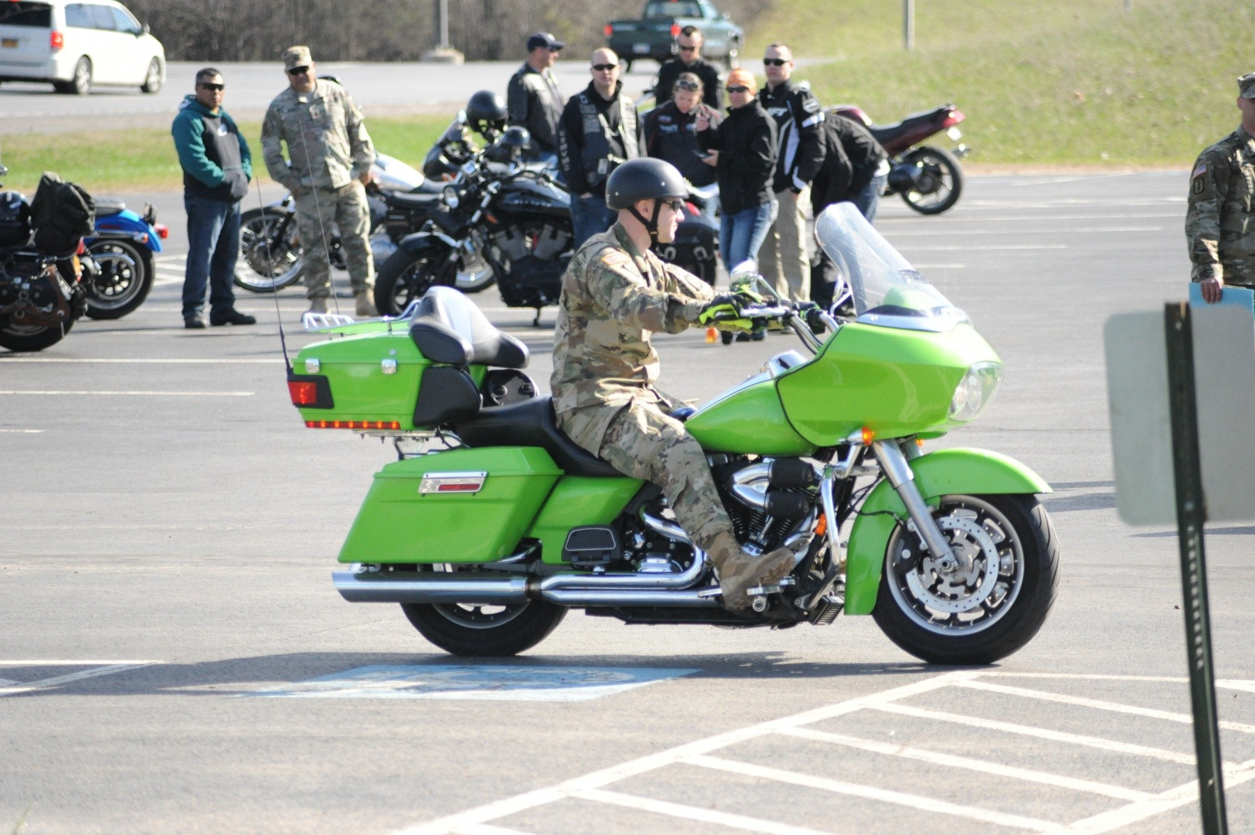 Motorcycle Safety Day at Fort Drum gathers Soldiers to discuss