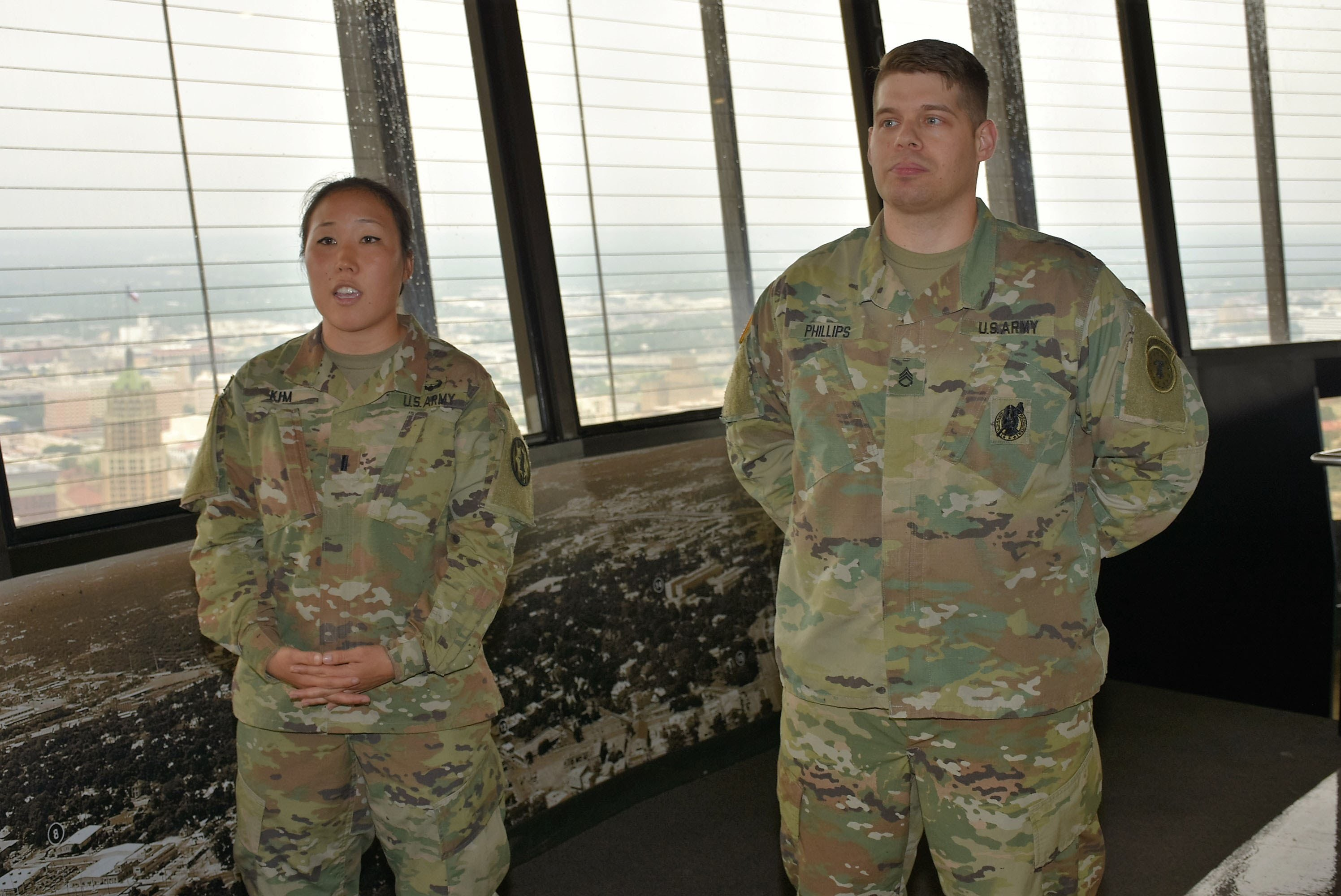 Army Tradition Continues As Health Care Recruiter Gets