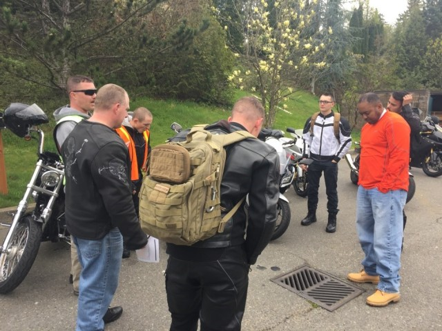 51st ESB Conducts safety training and mentorship ride