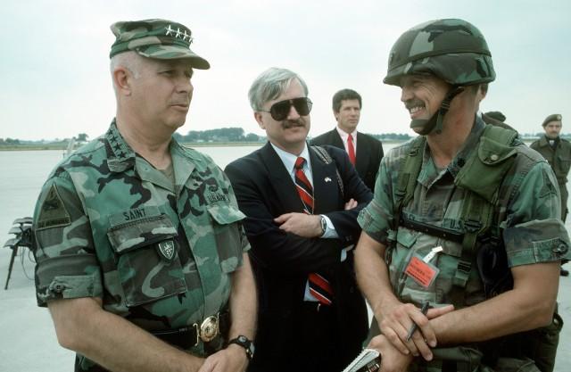 "Gen. Crosbie ""Butch"" Saint"