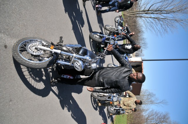 For Soldiers, motorcycling on, off post starts with mandatory Basic Riders Course