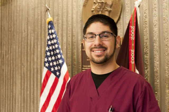 Jonathan Serna, registered nurse, Surgical Ward, William Beaumont Army Medical Center, was recognized as one of WBAMC's Light the Way award honorees. The quarterly award recognizes nurses who exemplify outstanding patient care, and the spirit and passion of Florence Nightingale, the founder of modern nursing.