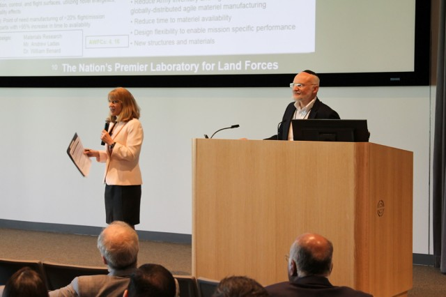 The U.S. Army Research Laboratory along with its partners in the ARL South region hold summit to highlight ARL South's research partnerships and achievements for the past year. The meetings were held at Rice University in Houston, Texas, April 22-23. ARL's regional lead, Heidi Maupin and Dr. Alexander Kott, ARL chief scientist welcome audience.