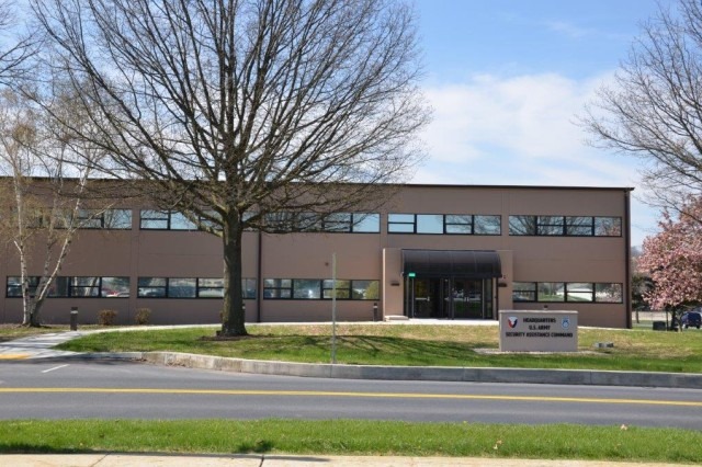 Building 81 underwent a facelift to once again house the Security Assistance Command's New Cumberland, Pa., operations.