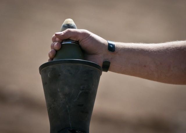 Coalition Fires Mortars at ISIS