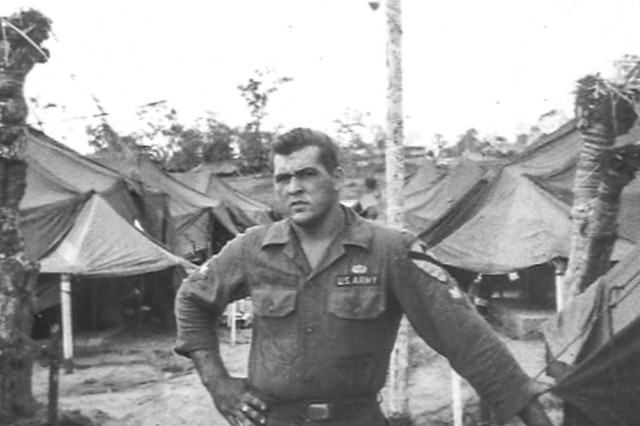 Pfc. Frank Crary in the Republic of Vietnam
