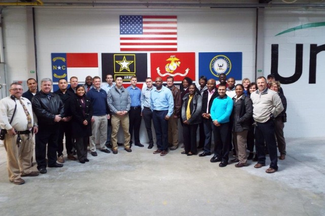Members of the 900th Contracting Battalion and Federal Prison Industries leaders met recently at Butner, North Carolina, to develop a better understanding of their shared mission to support the warfighter with contracted goods. The 900th CBN is located at Fort Bragg, North Carolina.