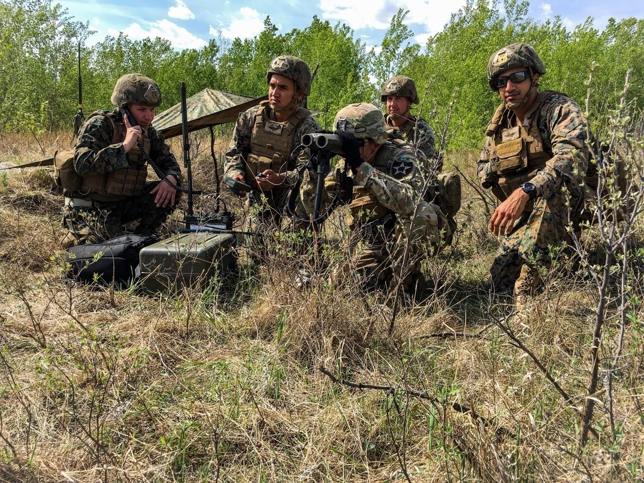 Joint Military Forces Training • Strengthens Bond Between Allies