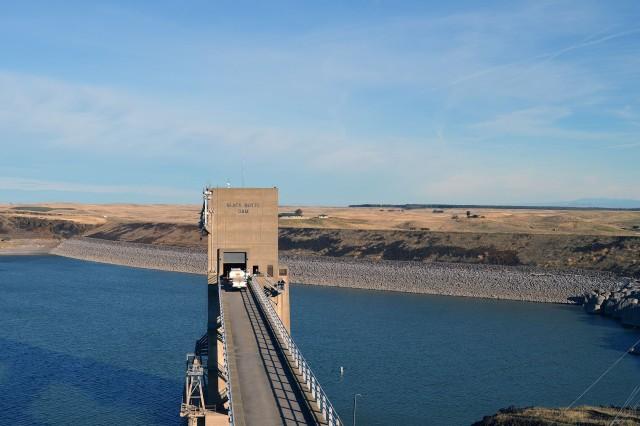 Black Butte Dam, CA