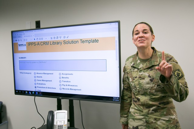 MS-ARNG HR Professional Enhances IPPS-A's CRM Capabilities