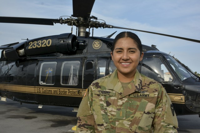 A female Texas Army National Guard pilot's tennacity and ethics keeps her eyes on the stars while serving on the U.S. - Mexico border within miles of her family's humble immigrant beginnings where dreams of flying set her mind ever forward and upward. Lt. Chavez shares her father's work ethics and desire for constant improvement looks towards NASA and the stars for her next goal.