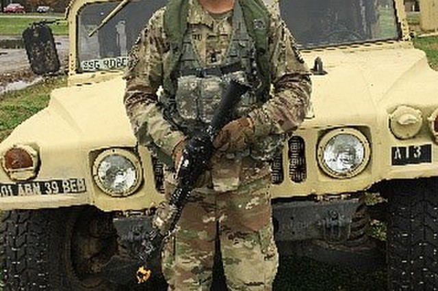 Combat Engineer, Sgt. 1st Class Marc Jankovich