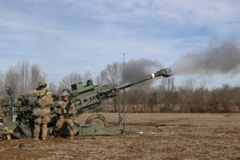 101st Division's Red Knights hone air assault artillery capabilities with 'fight tonight' mentality